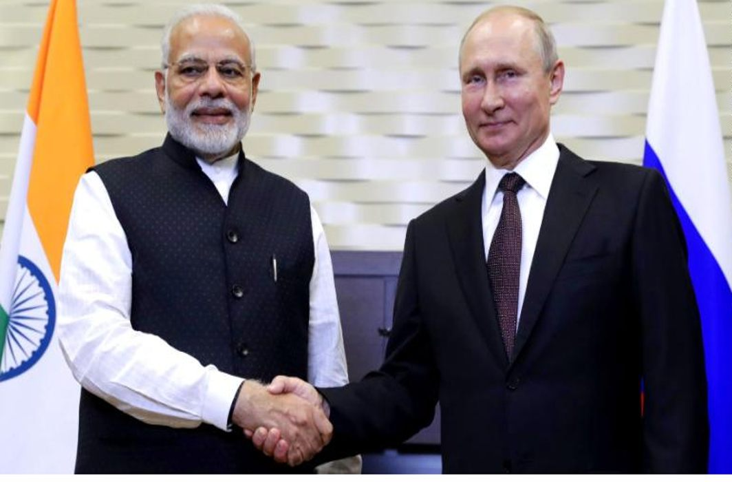 Modi-Putin discuss privileged strategic, economic ties
