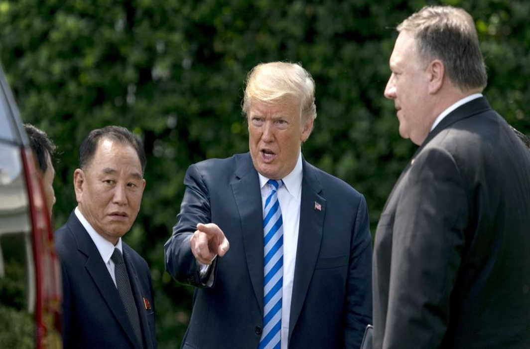 Trump receive Kim's letter from North Korean envoy
