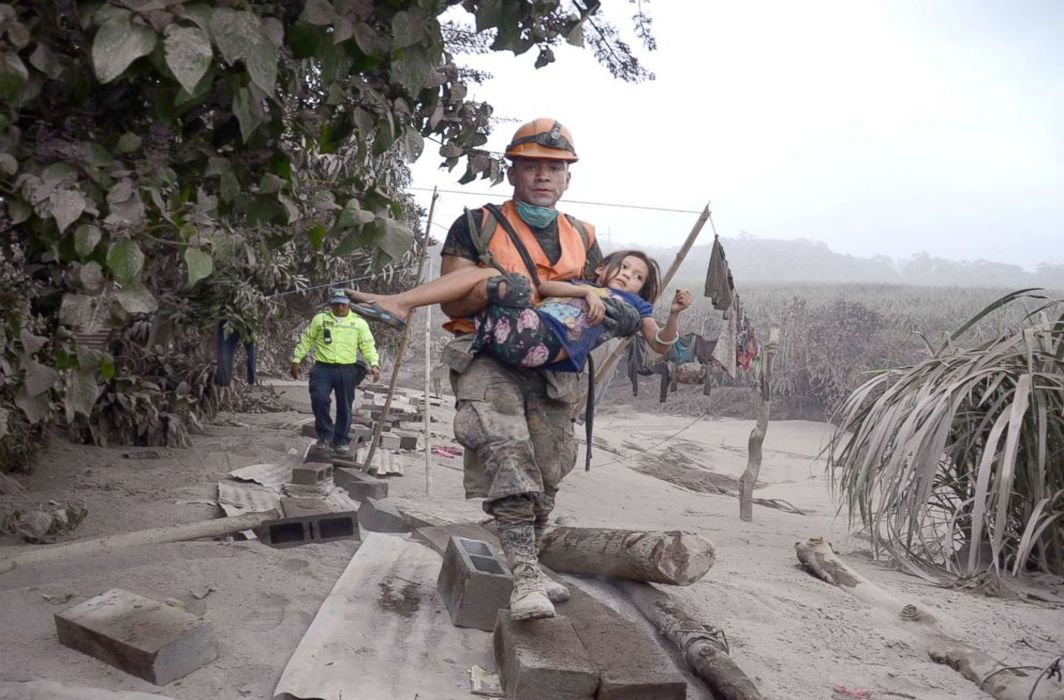 Guatemala Volcano explosion kills 75, leaves 192 missing