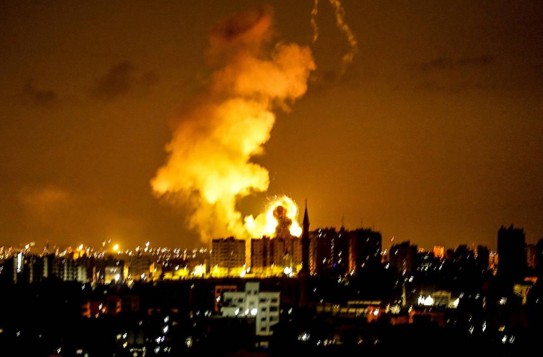 Israel hits Hamas targets, claims Palestinians hit rockets