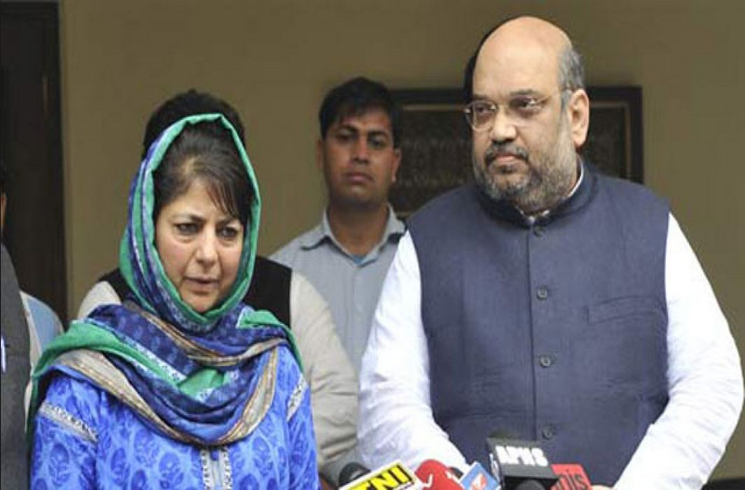 BJP end alliance with PDP, CM Mehbooba Mufti resigns; BJP recommends Governor's rule