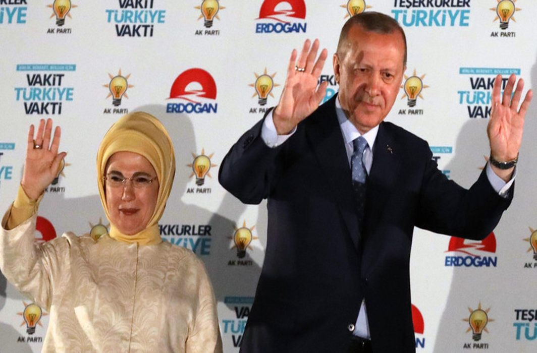 Erdogan re-elected as President, with more executive powers