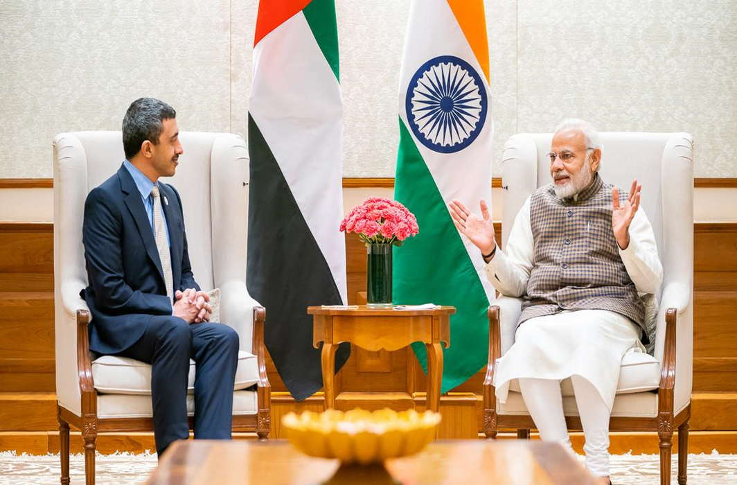 UAE Foreign Minister meets PM Modi, discuss bilateral ties, investment