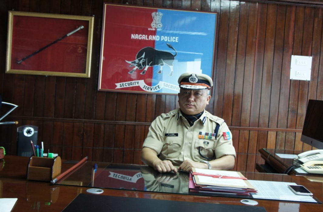 T J Longkumer takes as DGP of Nagaland