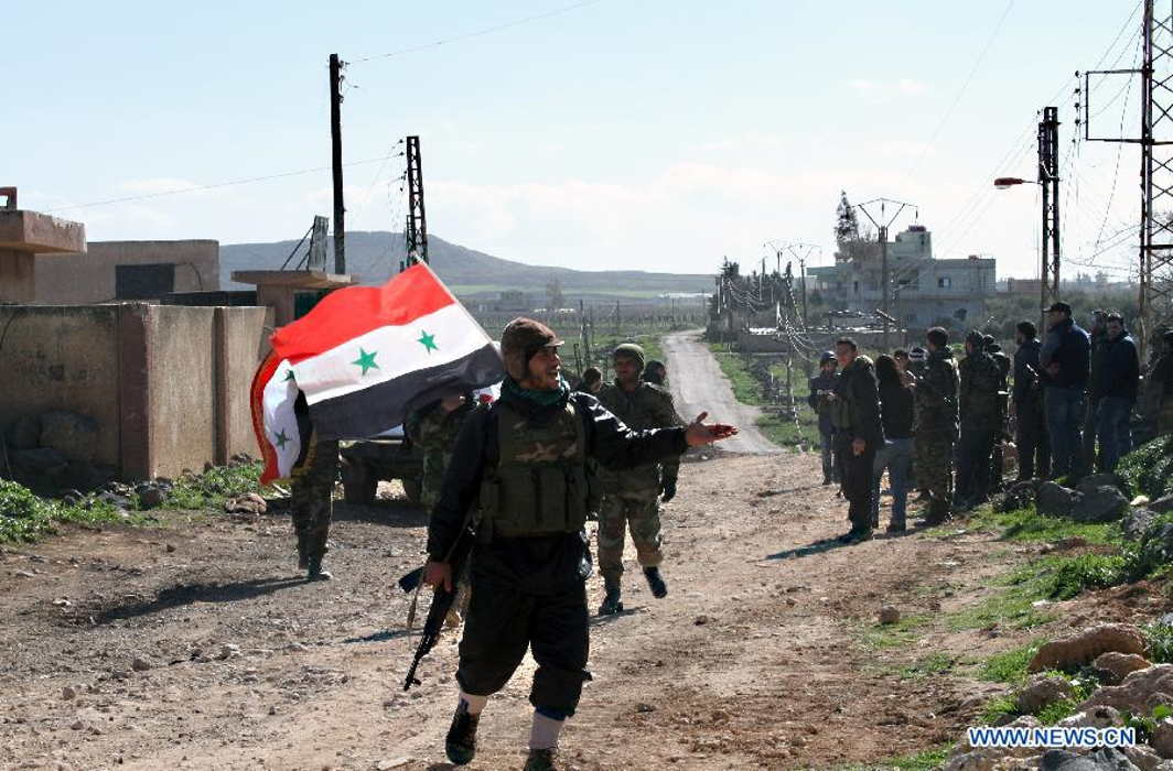 Syrian Forces Recapture Areas in Dara'a, Civilians Flee
