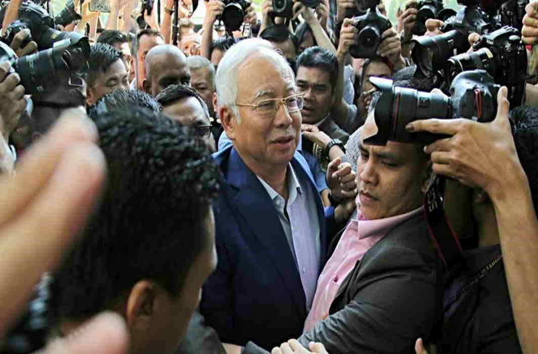Malaysia's Ex-PM Najib Razak Arrested On Corruption Charges
