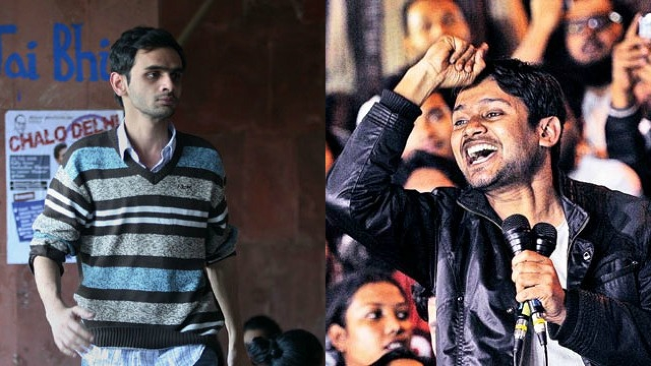 JNU panel upholds punishment to Umar Khalid, Kanhaiya Kumar