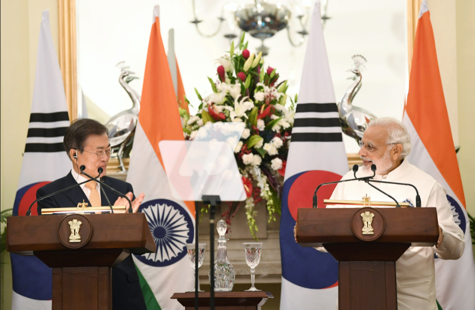 India, South Korea to strengthen ties, hold regular summits