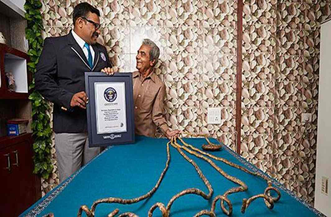 Indian gets his longest nails immortalized in US Museum