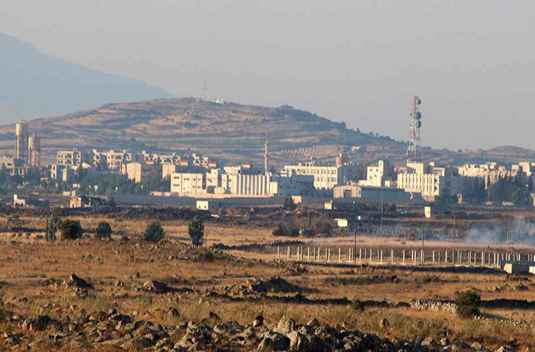 Syria captures strategic hill near occupied Golan Heights