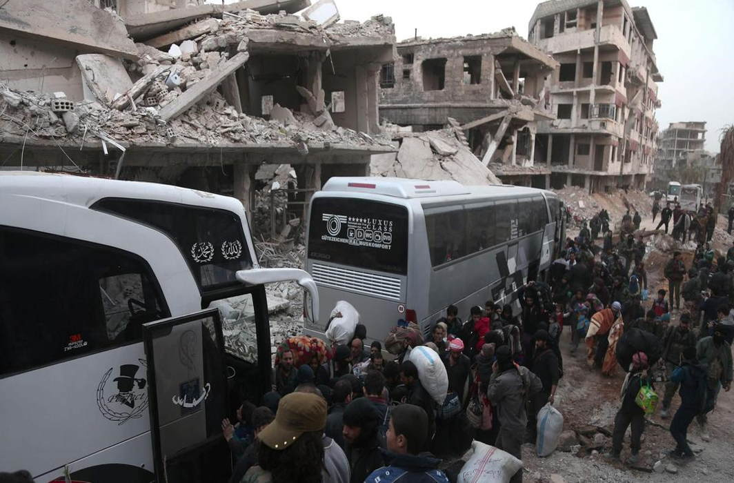Syria: Terrorists Sent To North under Russian Mediated Agreement