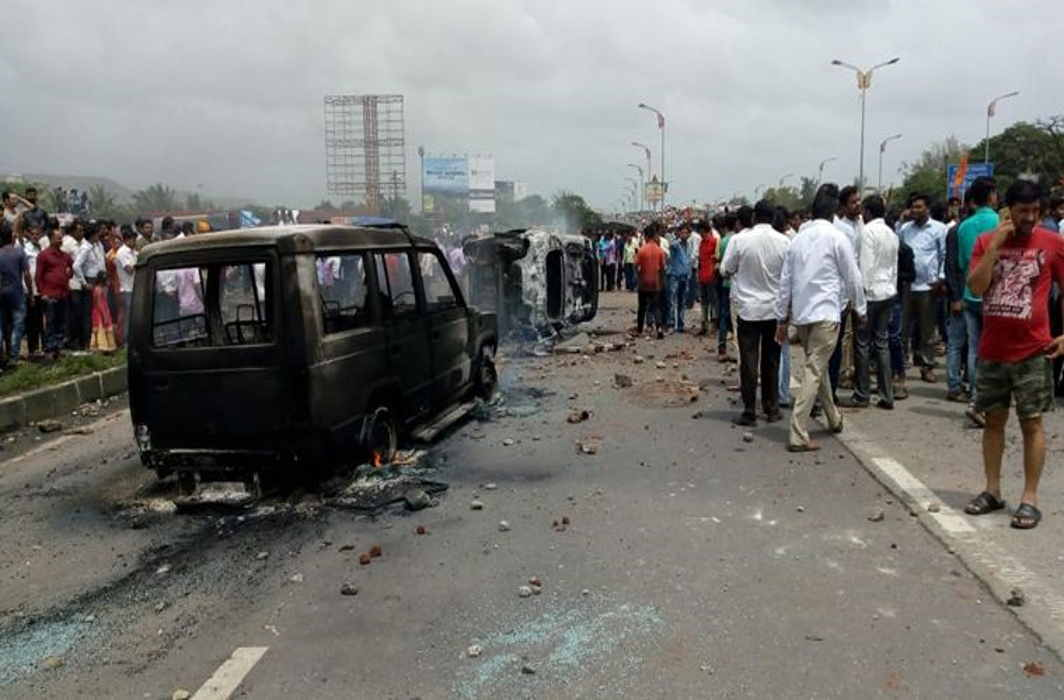 Maratha groups withdraw bandh call after protests turn violent; to gherao CM residence