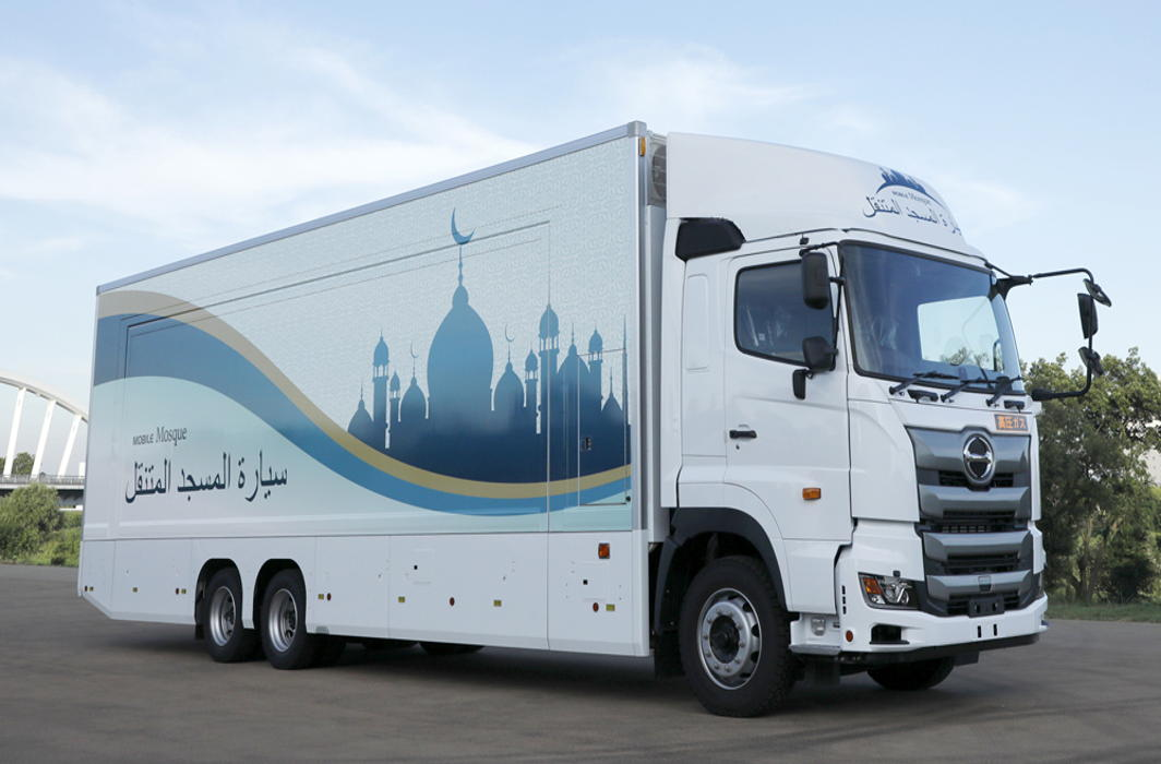 Japan Build's First Mobile Mosque for 2020 Summer Olympics