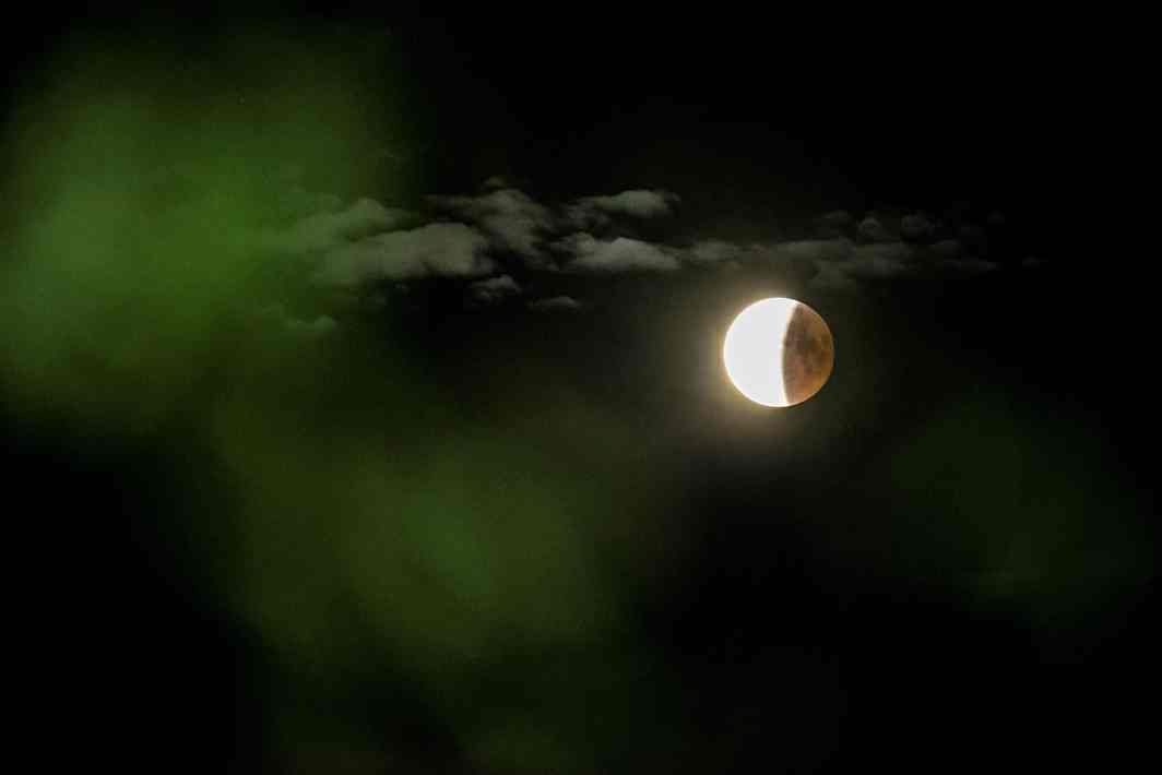 A blood moon lunar eclipse is seen near Roskilde, Denmark, Mads Claus Rasmussen/Ritzau Scanpix/Reuters/UNI