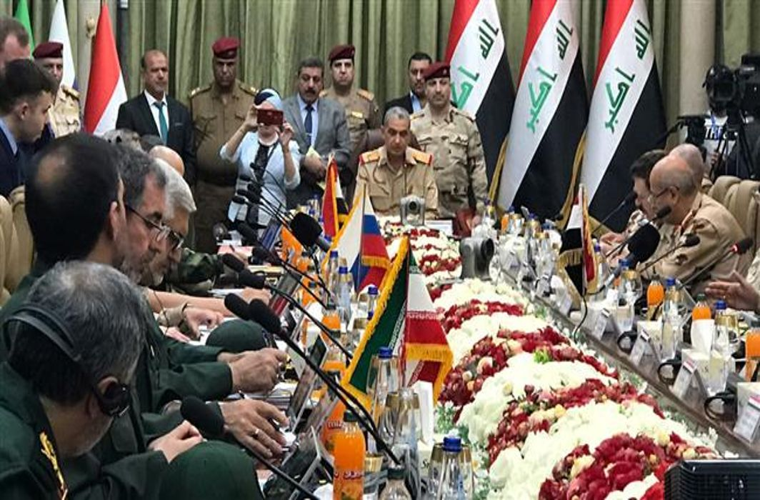 Military officials from Russia, Iran, Iraq and Syria meet in Baghdad