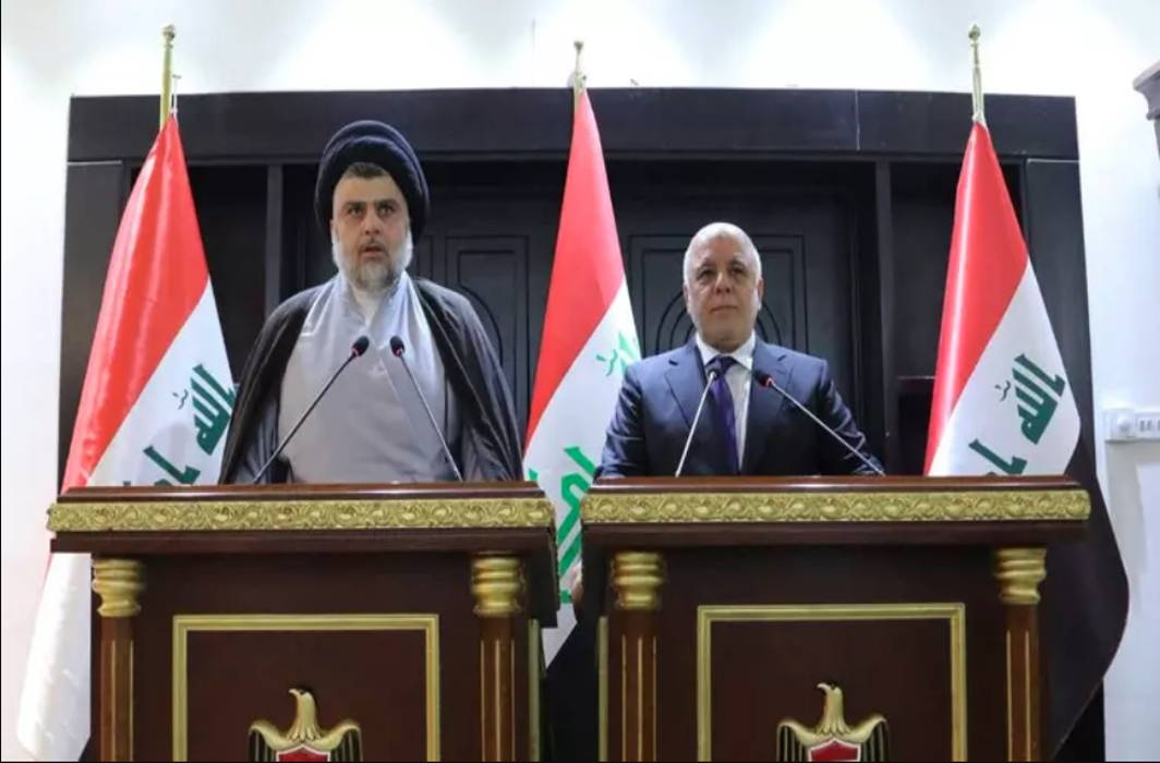 Eleven Iraqi political groups, including those led by firebrand cleric Moqtada al-Sadr and Prime Minister Haider al-Abadi have announced an alliance that would be the majority bloc in newly elected parliament to form new government.