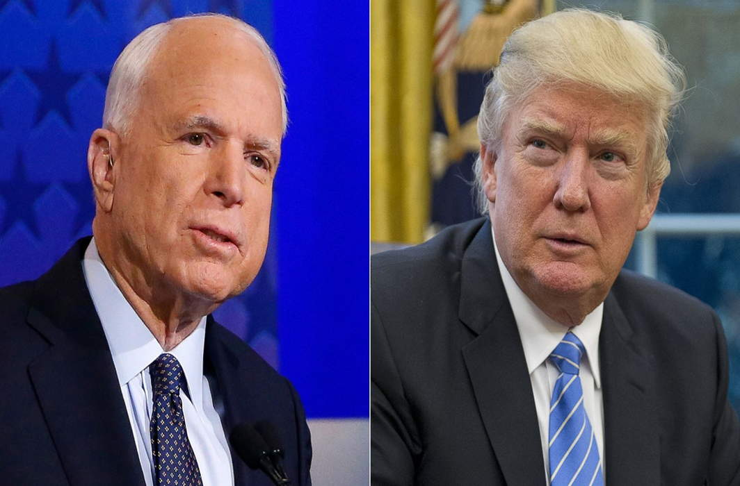 McCain's funeral: The man he was and Trump has never been