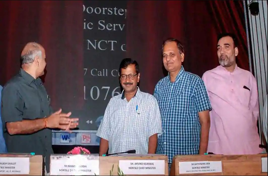 Kejriwal To Strengthen Infra For Service Home Delivery