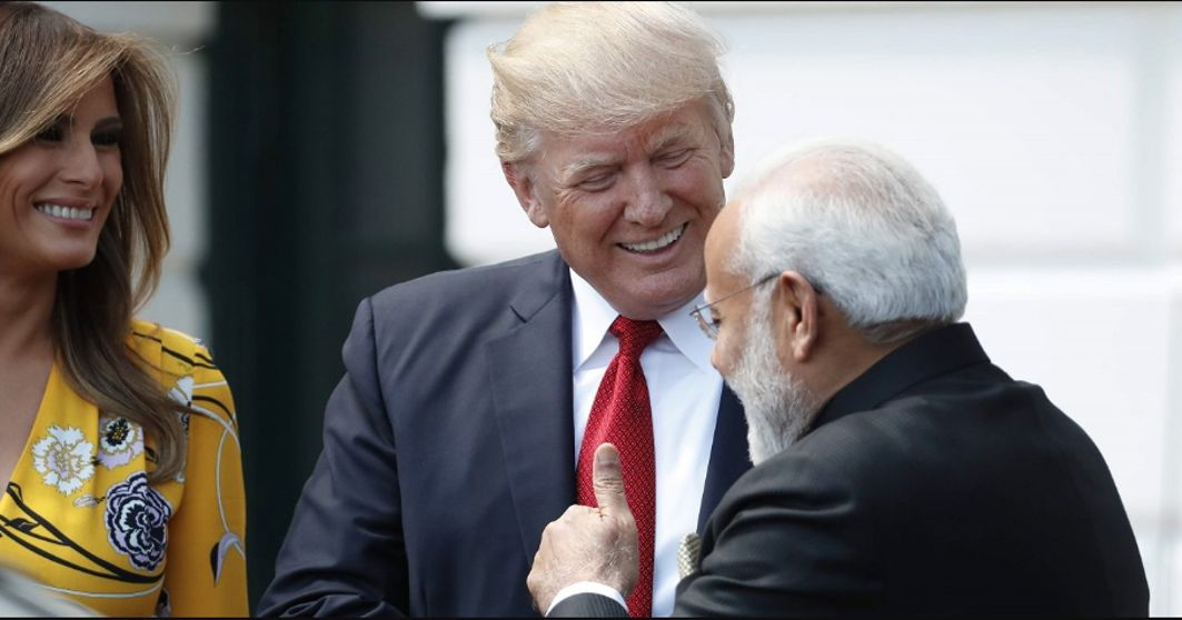Trump: India Called Us Wanting Trade Deal despite Tough Talks