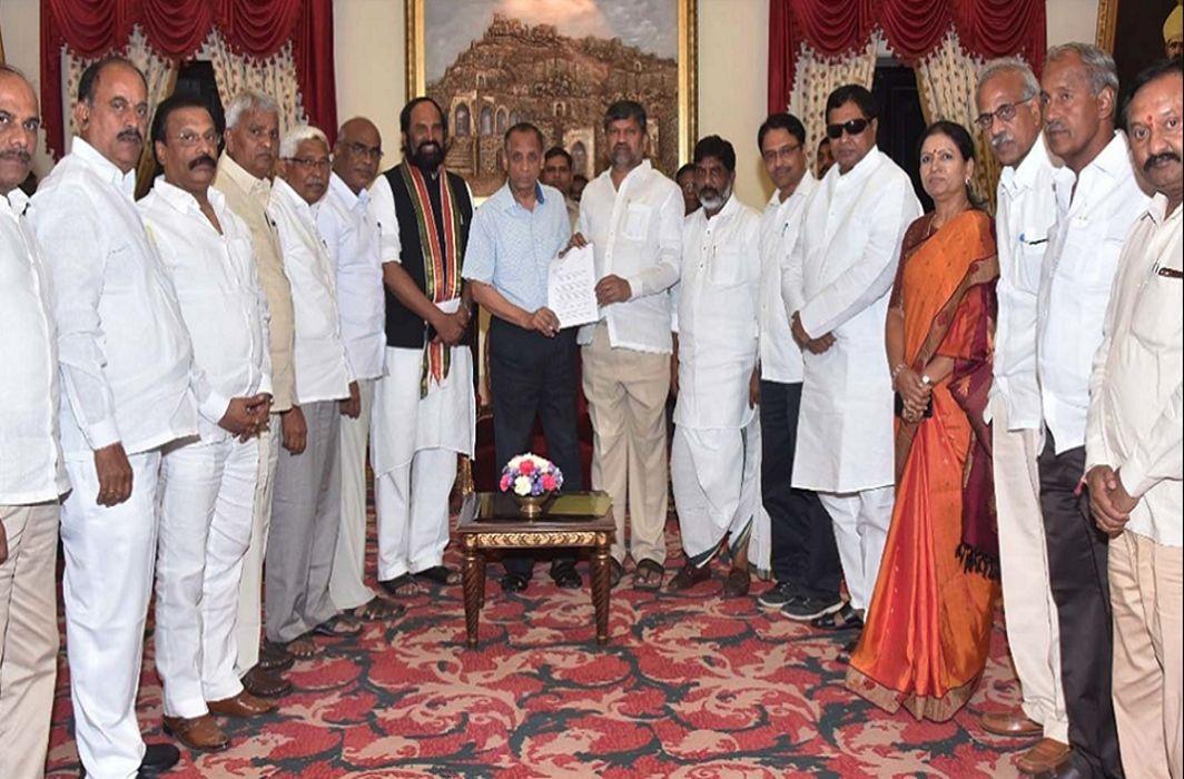 Telangana: Opposition unites against TRS, demand President's rule