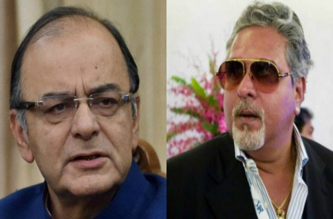 Jaitley sat with Mallya for 15-20 minutes, check CCTV, says Congress after FM denied a meeting