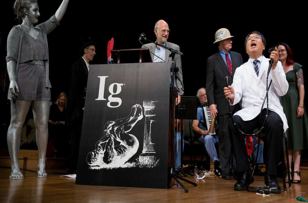 Here are the Ig Nobel prizes 2018: 'Roller coaster rides get rid of kidney stones' among winners
