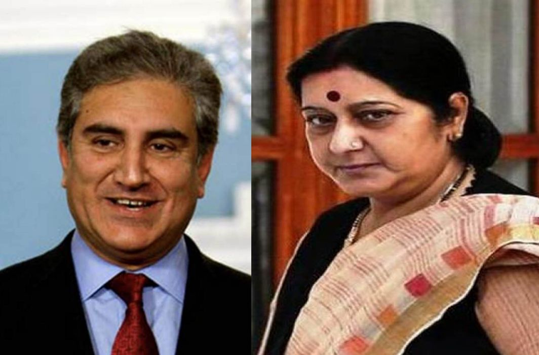 Indian and Pakistani foreign ministers