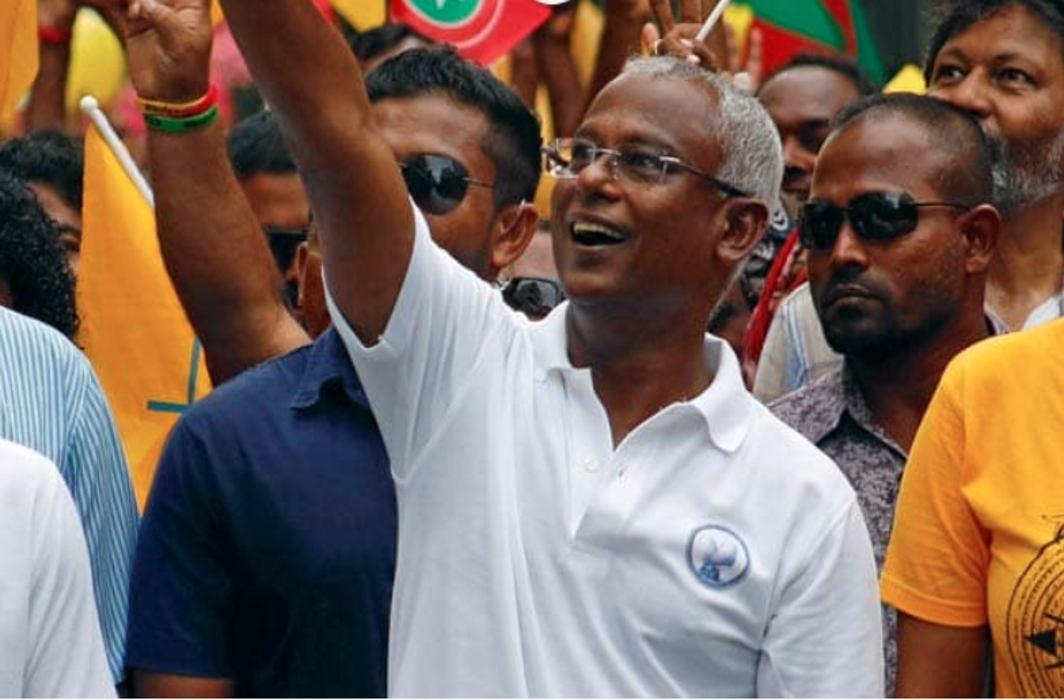 India congratulates Maldives president-elect Ibrahim Solih