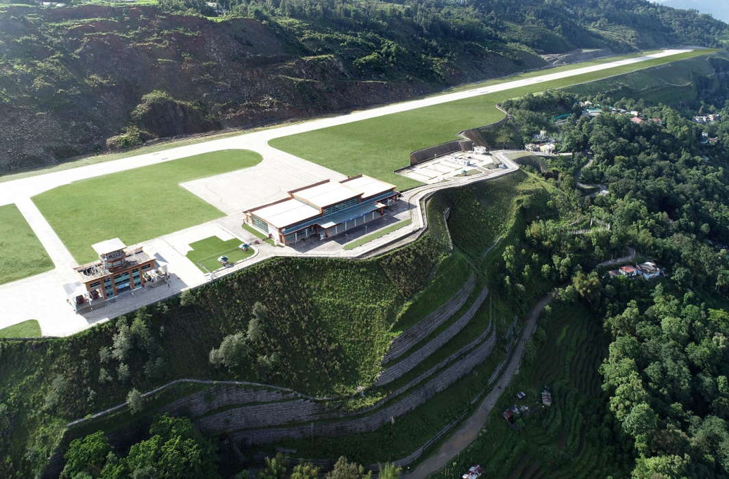 Sikkim gets its first airport, Pakyong: a picturesque engineering marvel
