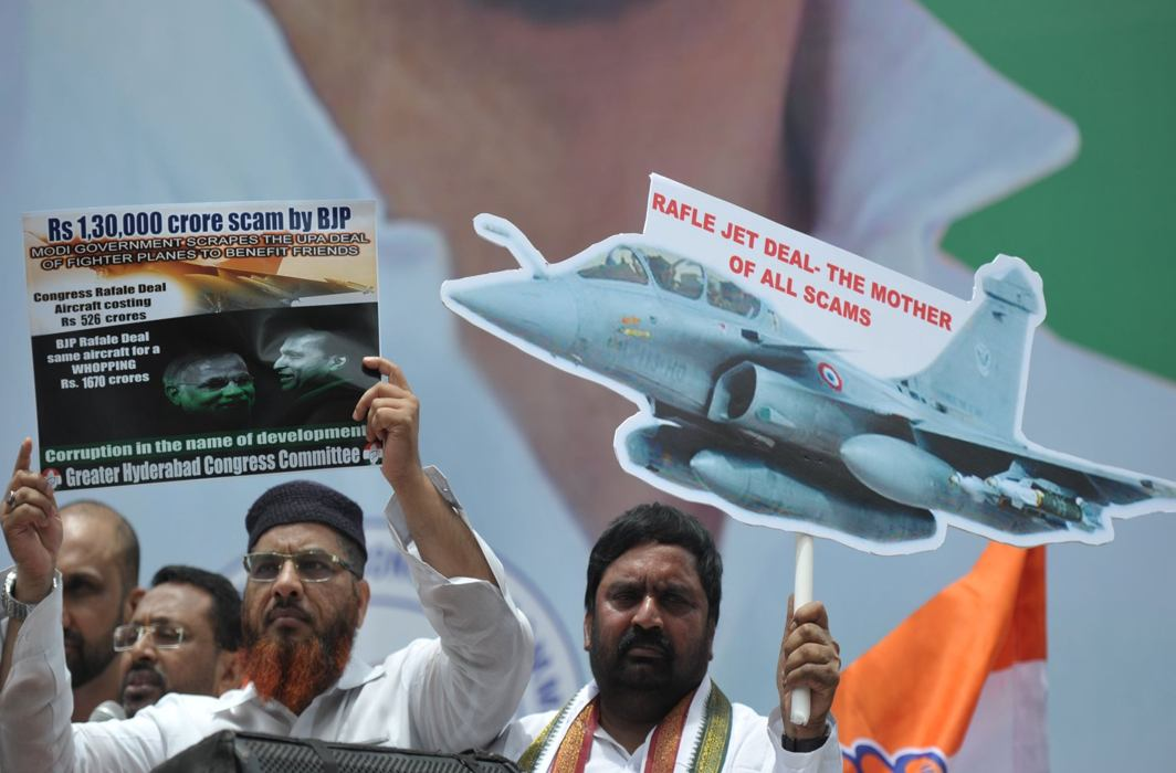 Rafale deal: Congress goes to CVC while Modi govt says everything except answer queries