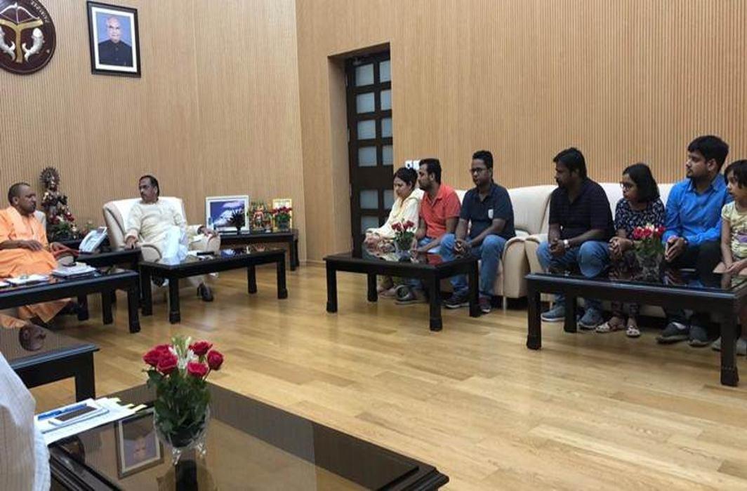 Apple executive killing: Second FIR filed, family meets CM Yogi Adityanath