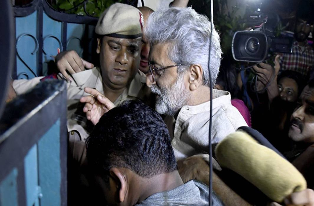 Delhi High Court ends Journalist and activist Gautam Navlakha's house arrest