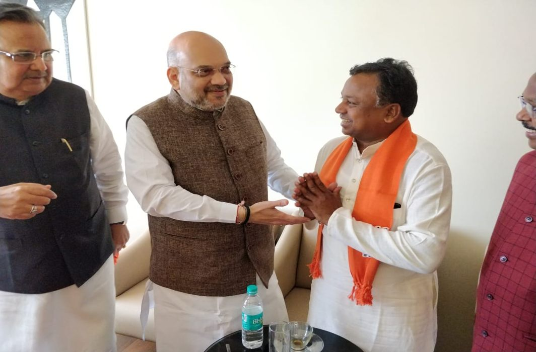 Ahead of state polls, Congress state working president in Chhattisgarh joins BJP