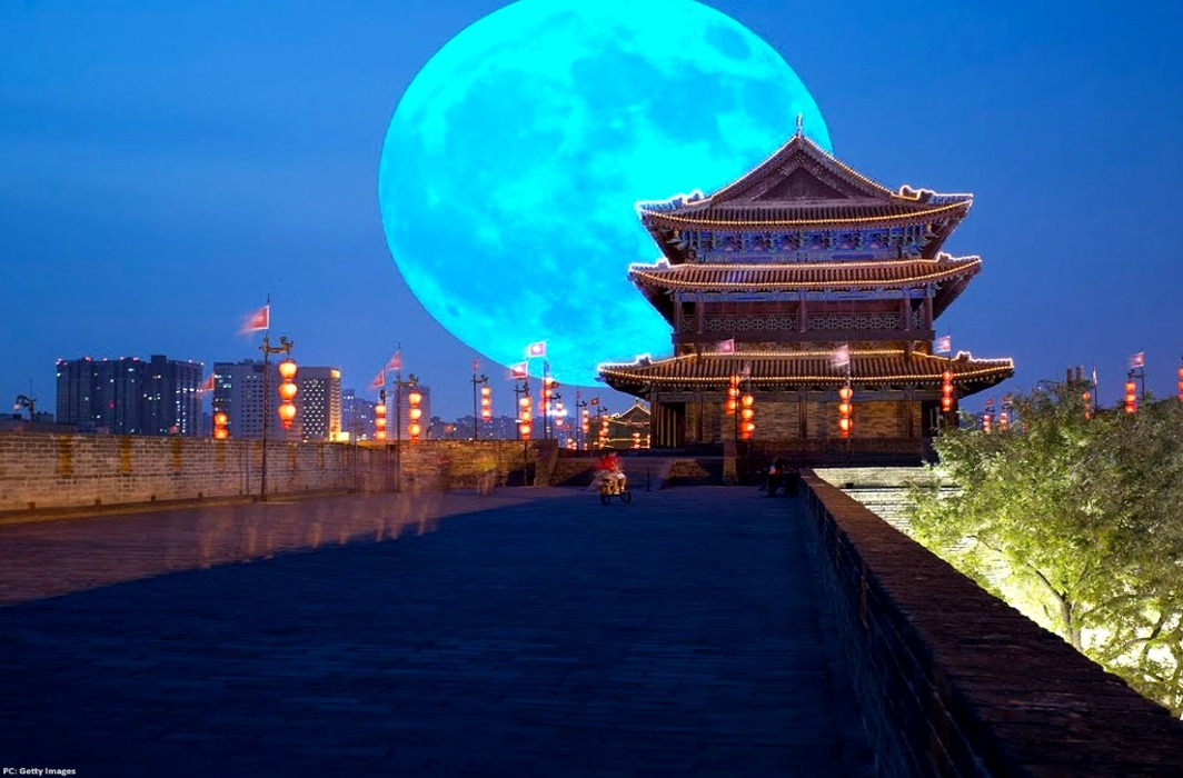 China plans to send up an artificial moon for light at night