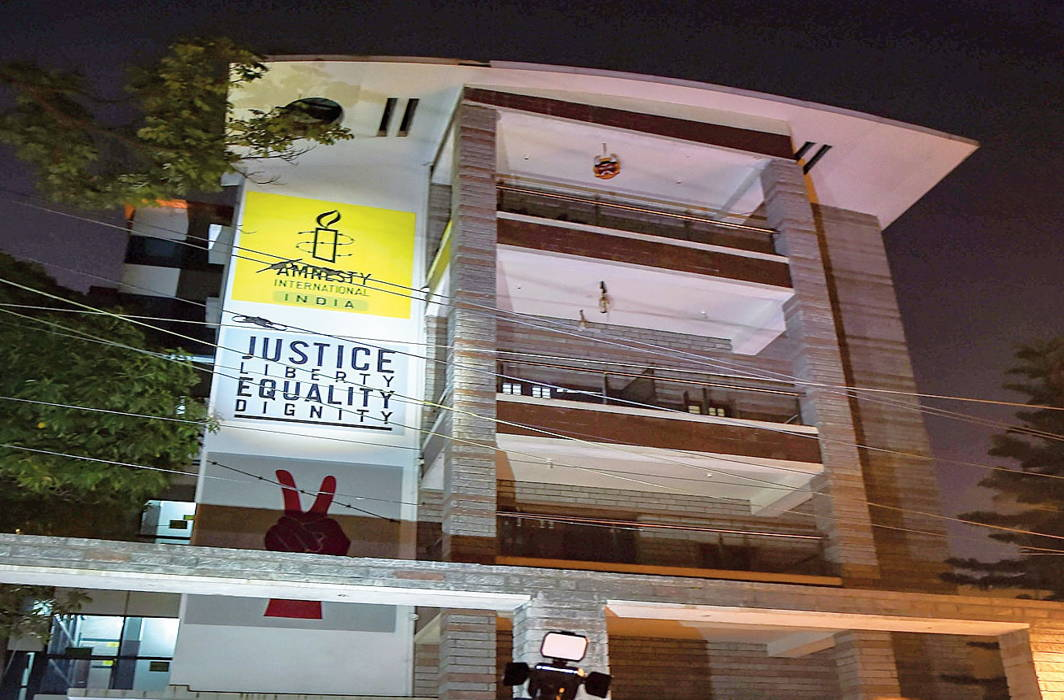 ED raids Amnesty International's office, NGO calls it assault on civil society