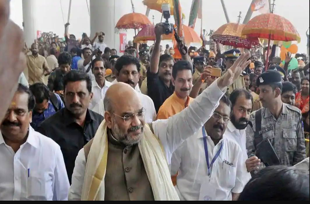 "Amit Shah calls ""emergency-Like"" situation in Kerala"