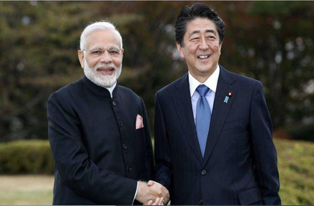 PM Modi Begins Summit with Japan's Shinzo Abe