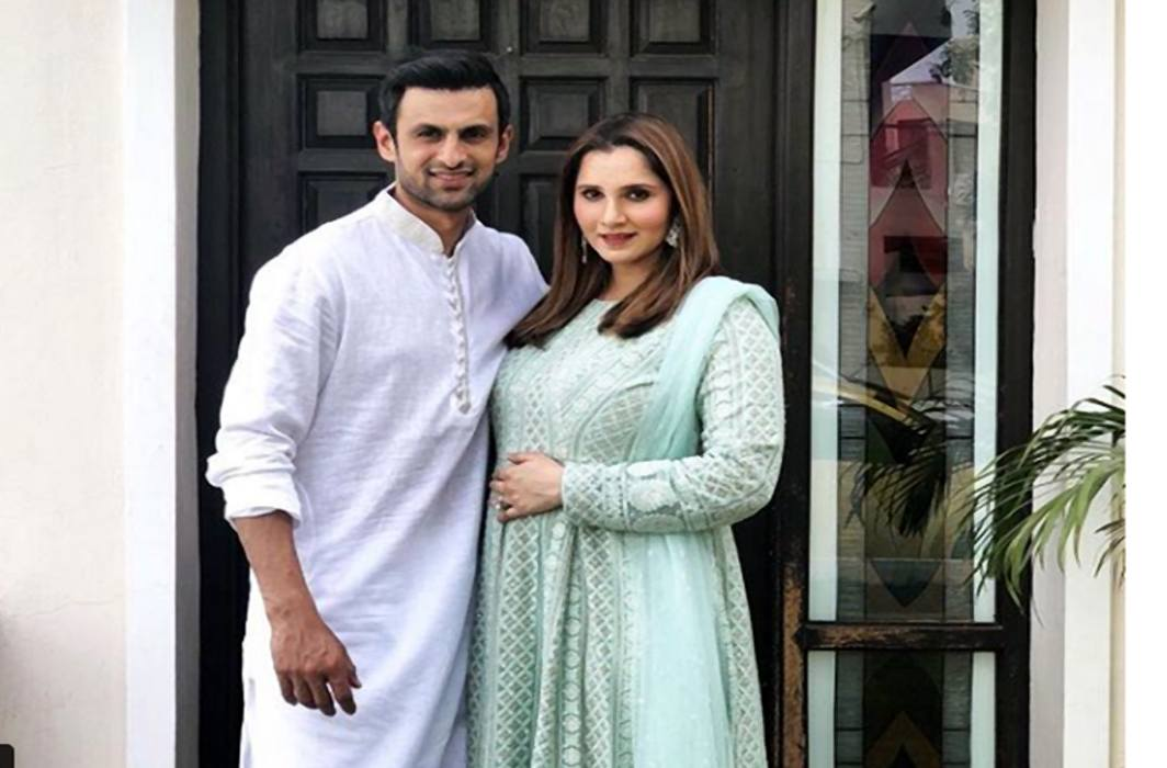 Tennis star Sania Mirza shares first pic of baby boy Izhaan Mirza-Malik