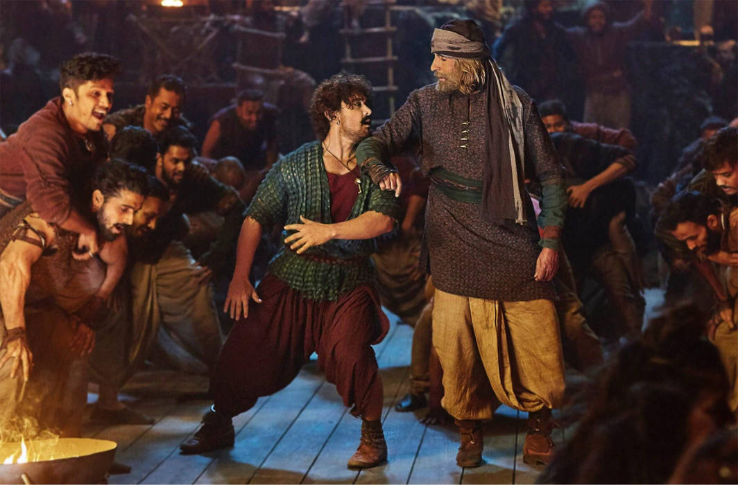 'Thugs of Hindostan' gets negative remarks from the critics and cine enthusiasts