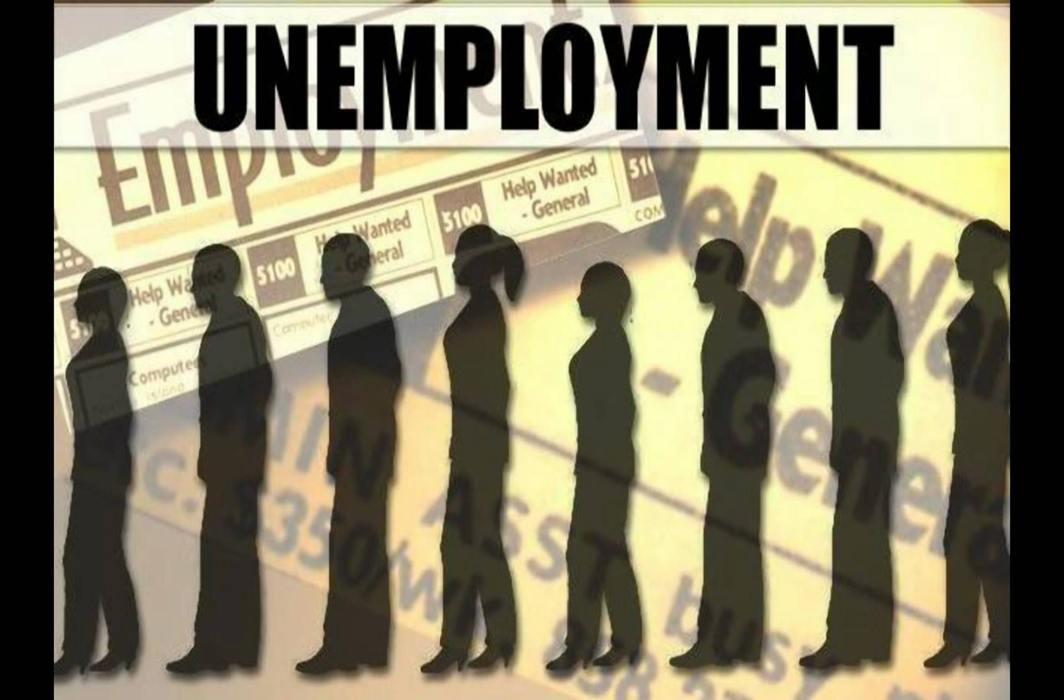 Unemployment rate at 6.9 percent, highest in two years when systematic measuring began