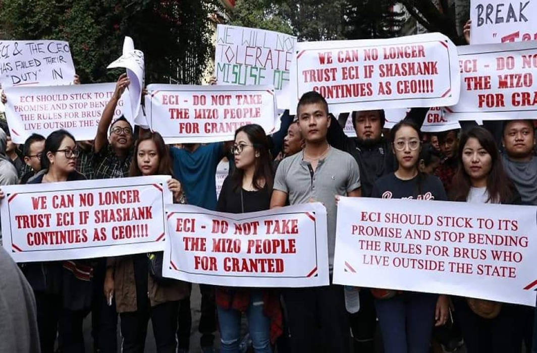 Chief election officer of poll-bound Mizoram replaced following protests