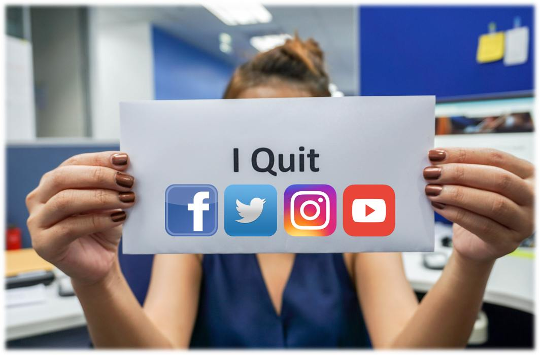 Many Celebrities and Netizens are quitting social media for mental health