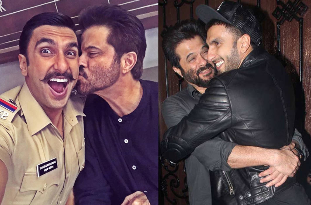 Anil Kapoor responds to reports of being miffed with Ranveer and Deepika