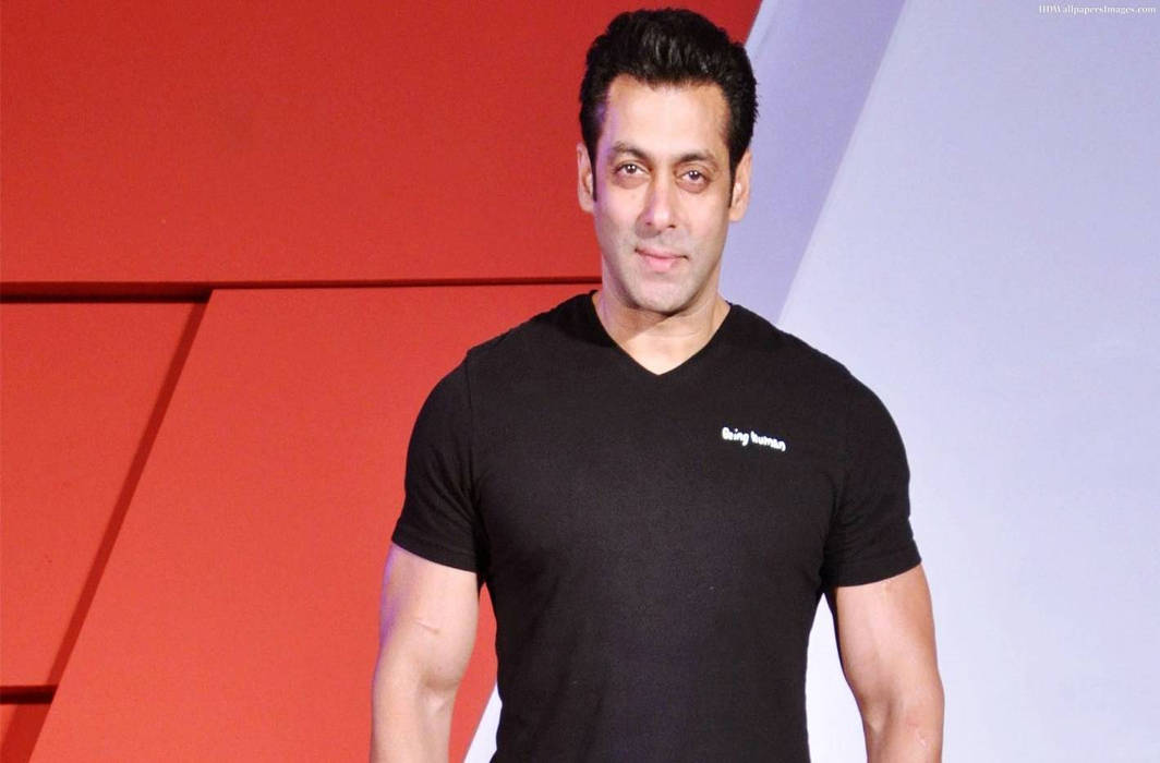Bolywood star Salman Khan