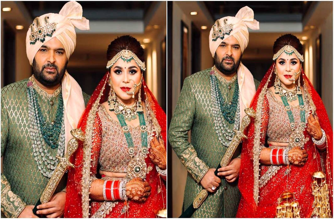 Latest pics from Kapil Sharma-Ginni Chatrath wedding ceremony