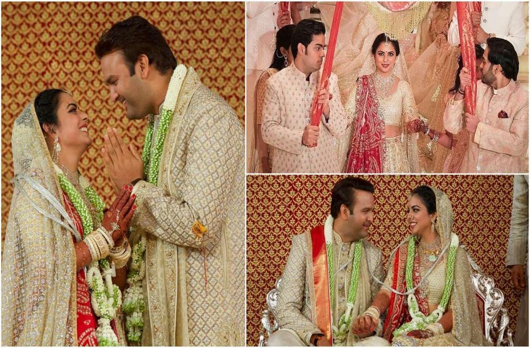 Isha Ambani and Anand Piramal's wedding and reception pictures