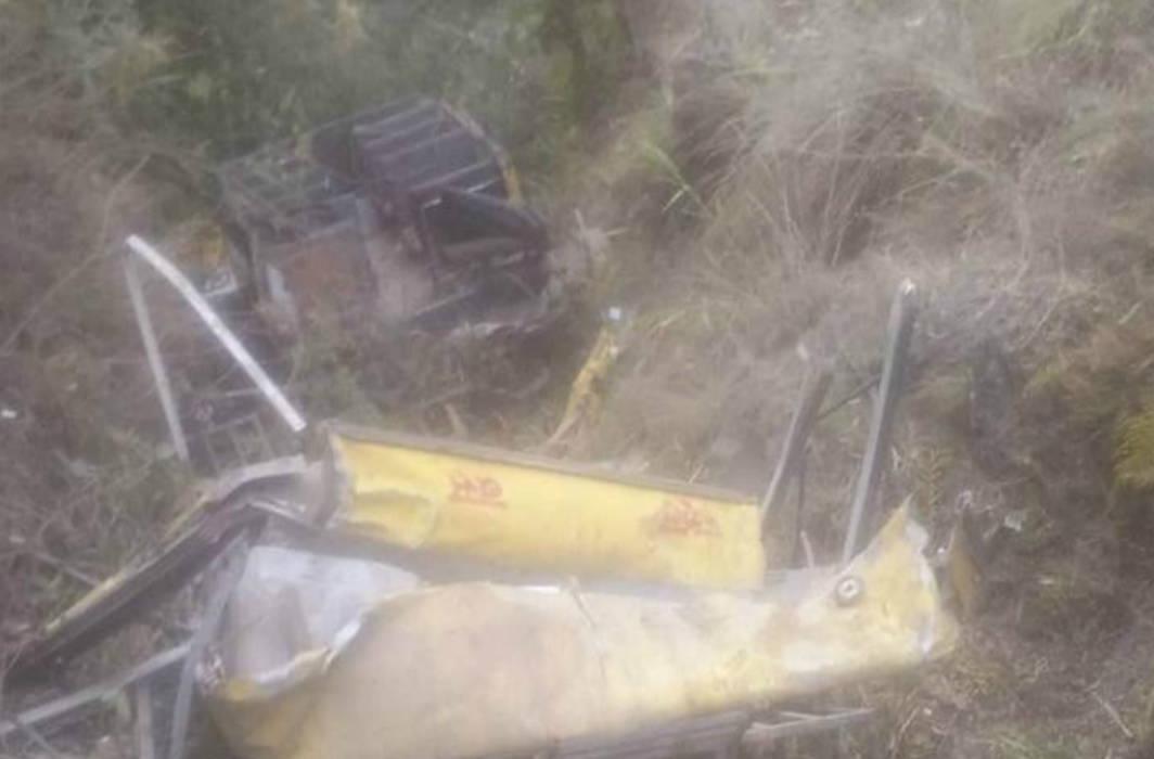 6 children, driver dies as bus falls into gorge in Himachal Pradesh