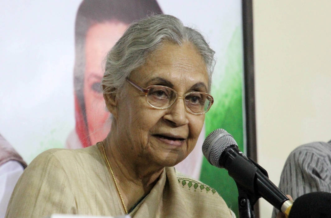 Former CM Sheila Dikshit