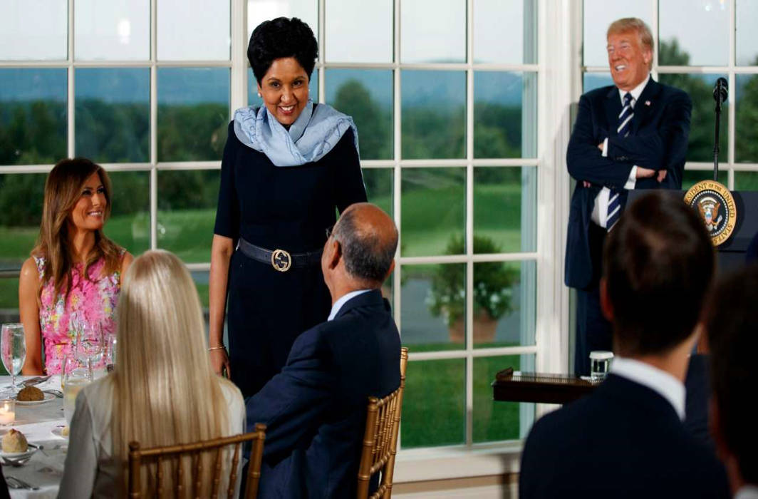Ivanka Trump is considering Indra Nooyi as the next World Bank Chief