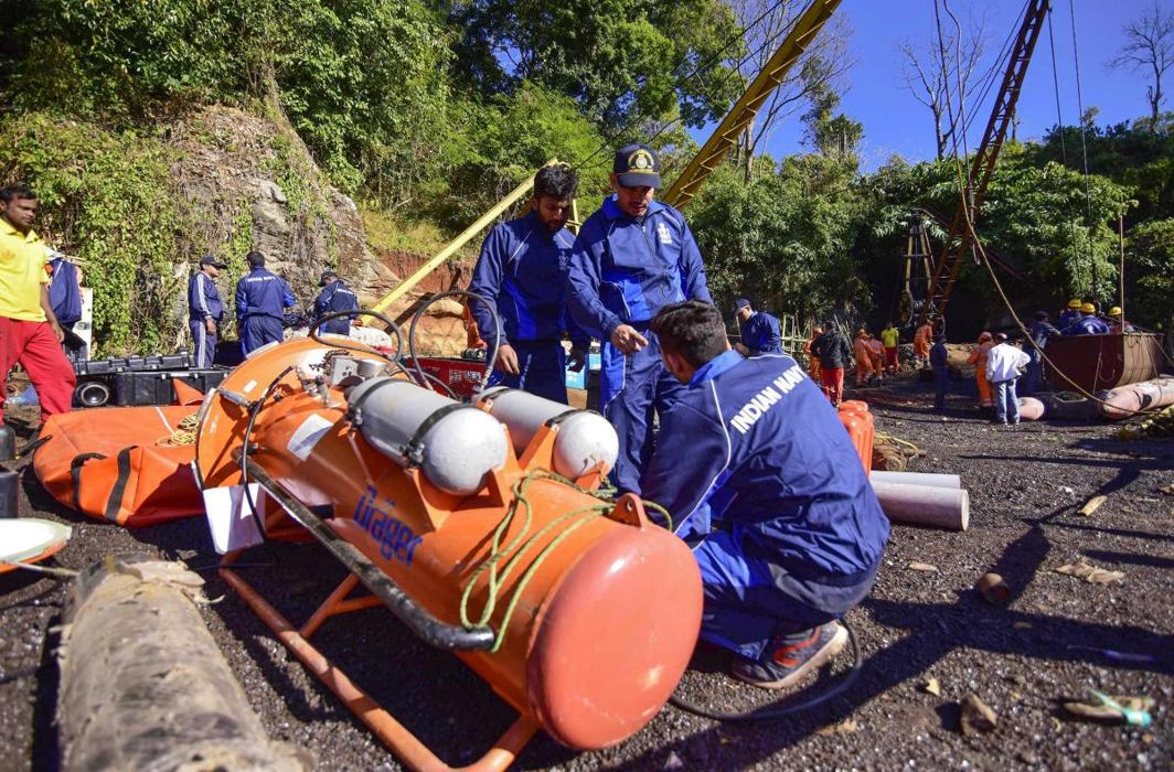 Meghalaya coal mine disaster: After month since 15 miners got trapped, Navy spots one body